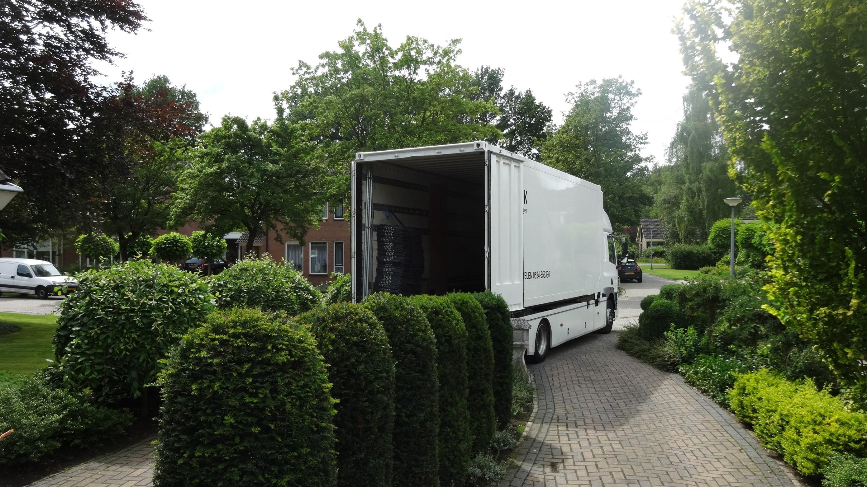 D&K Verhuizingen - Verhuiswagen met verhuizers huren