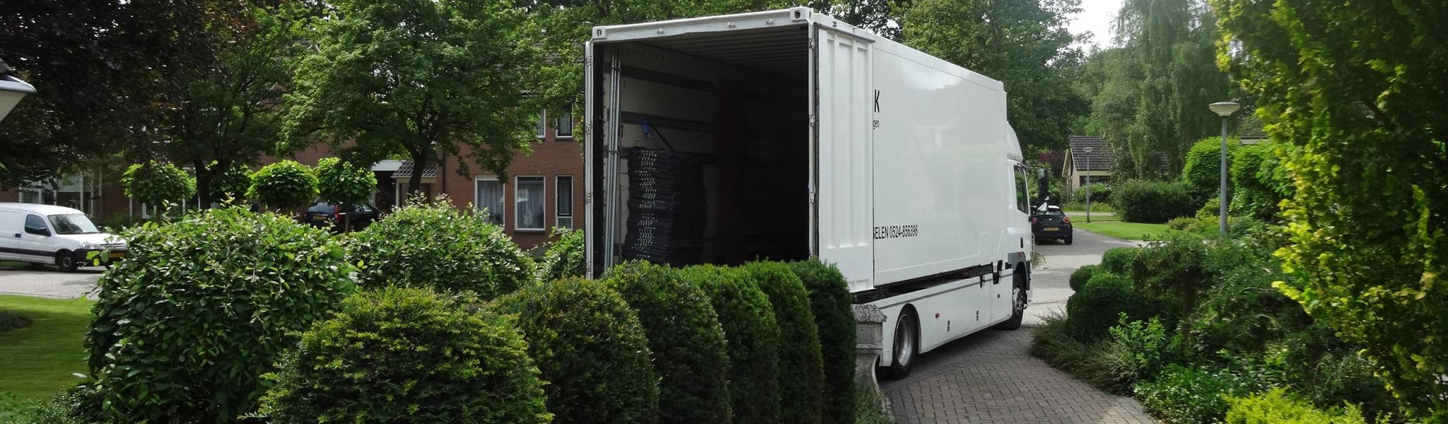 D&K Verhuizingen - Verhuiswagen met verhuizer huren